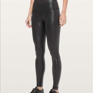 Lululemon Wunder Under High-Rise Tight *Foil 28""